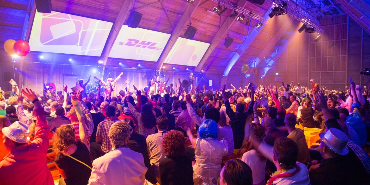 DHL jubileumfeest