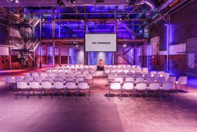 Perserij - congres Utrecht - congreslocatie - Midden-Nederland - Zaal Congres - Meeting - Vergaderruimte - Vergaderen - Vergaderlocatie - Productpresentatie Utrecht - DeFabrique - Evenement voorbereiding