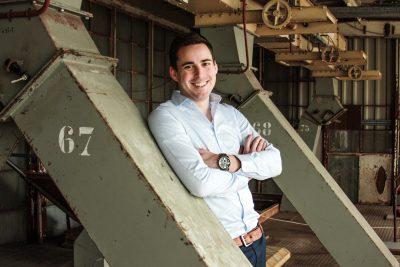 Innovation manager Thijs Megens