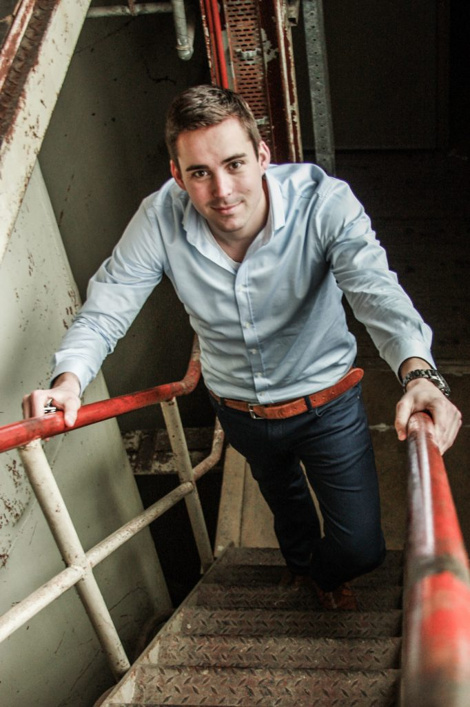Innovatiemanager Thijs Megens