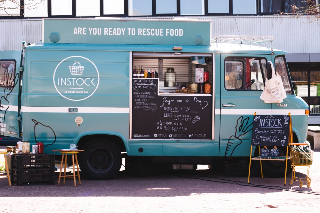 Originele foodtrucks