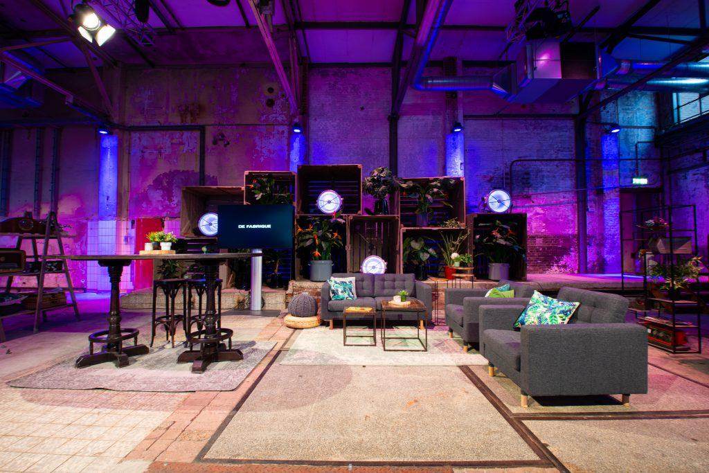 Studio - industriële livestreamstudio's Utrecht