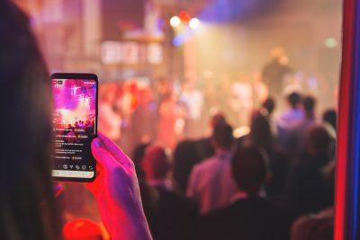 Social media evenement